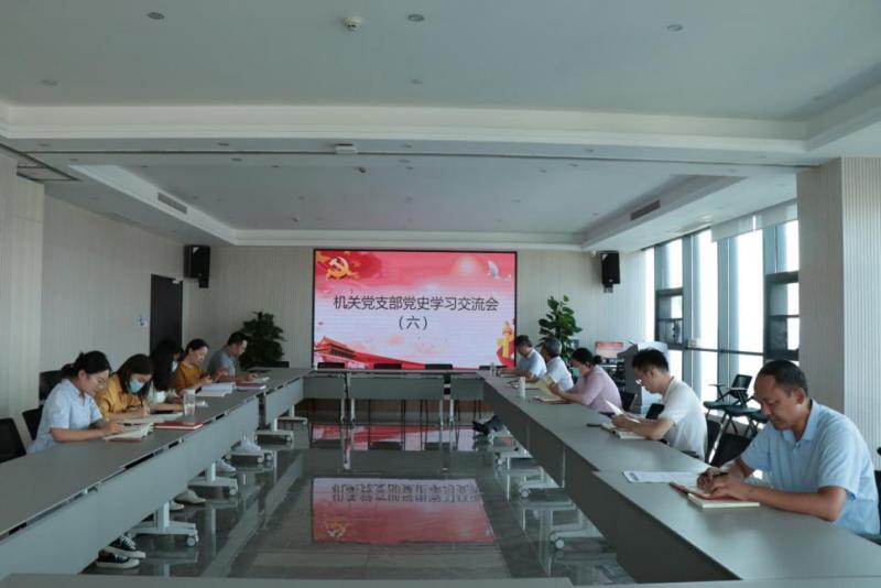 信阳华信投资集团召开党史学习交流会(六)